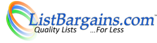 www.ListBargins.com - Quality lists... for less!